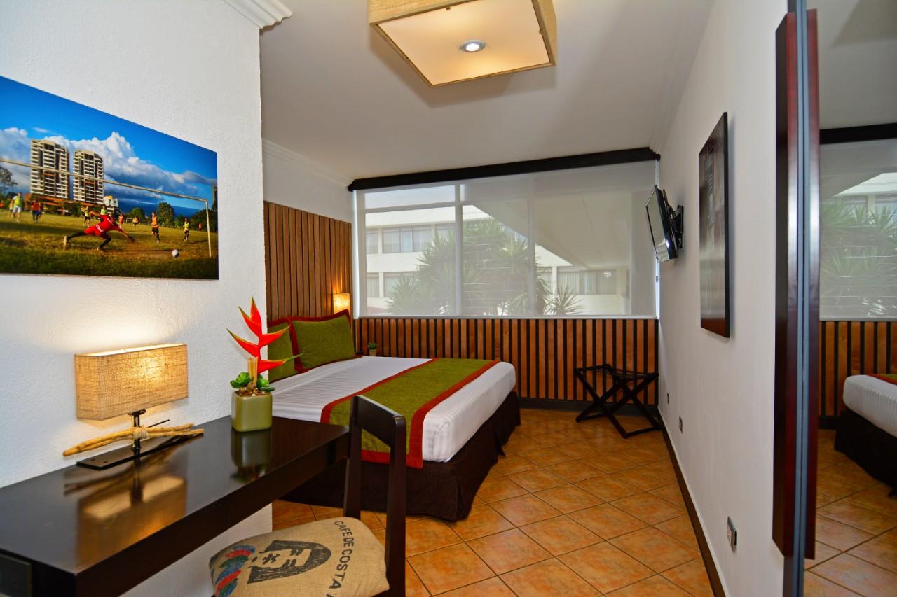 habitacion hotel autentico costa rica